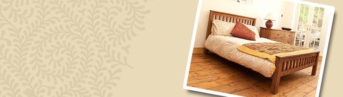 Bedroom Handmade Wooden Beds | Casa Bella Furniture UK