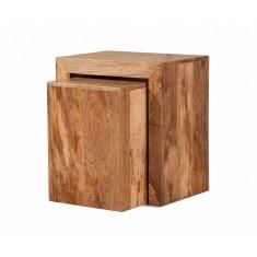 Dakota Light Mango 2 Cube Nest