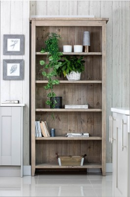 Seville Reclaimed Tall Bookcase