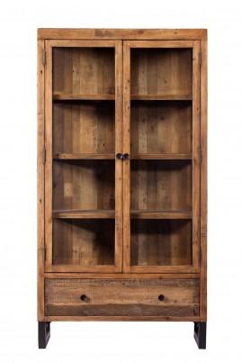 Brooklyn Industrial Display Cabinet