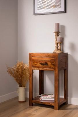 Mandir Sheesham Lamp Table