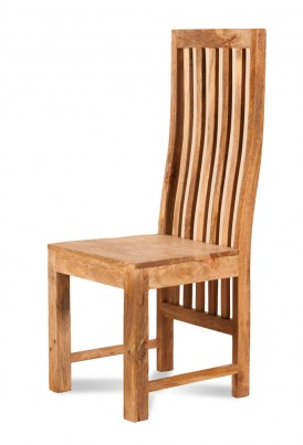 Dakota Light Mango Dining Chair 1