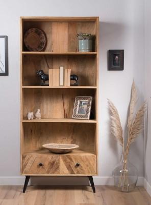 Urban Industrial  Mango Tall Bookcase