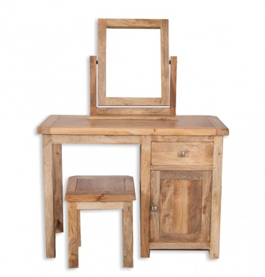 new concept a8134 bcc14 Farmhouse Light Mango Dressing Table (Table only)