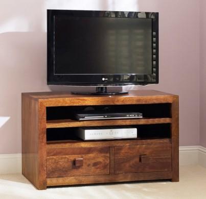 Dakota Mango Medium 2-Drawer TV Unit