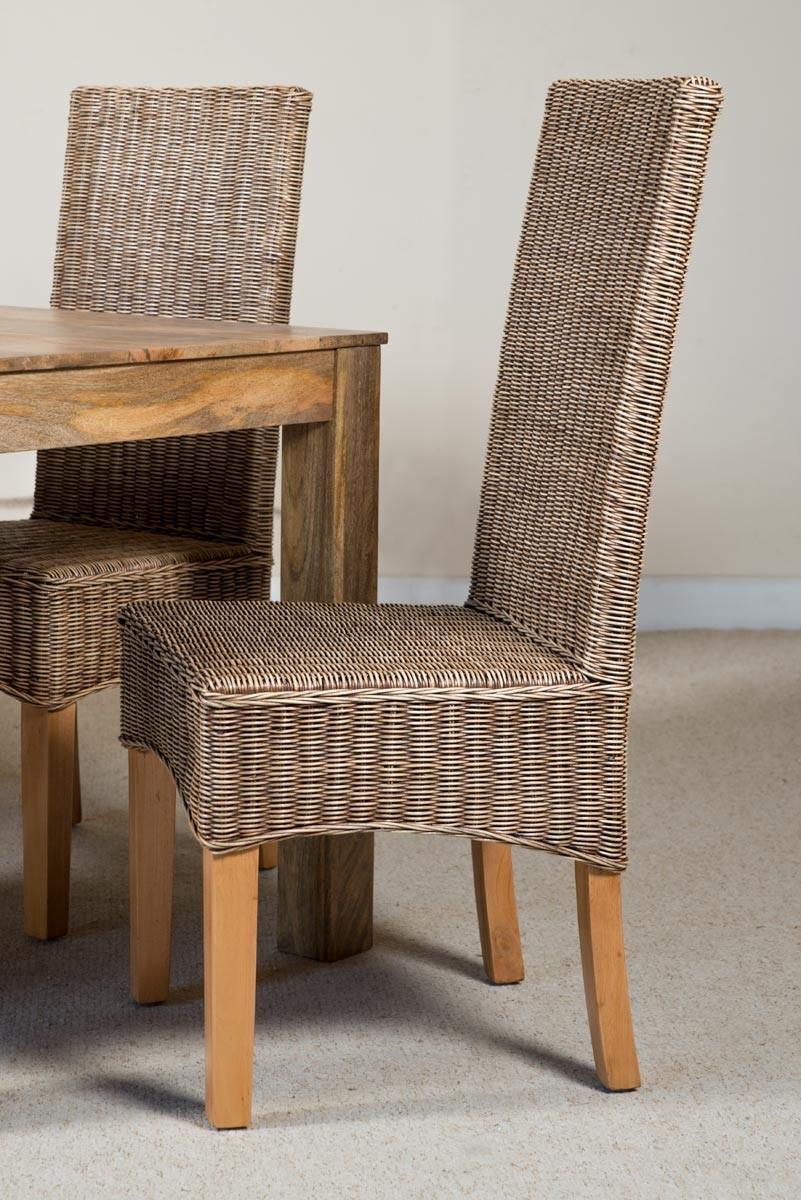 Ibis Rattan 6-Seater Light Mango Dining Set | Casa Bella ...