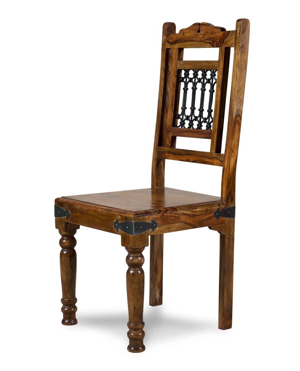 Jali Sheesham Dining Chair Casa Bella Furniture Uk