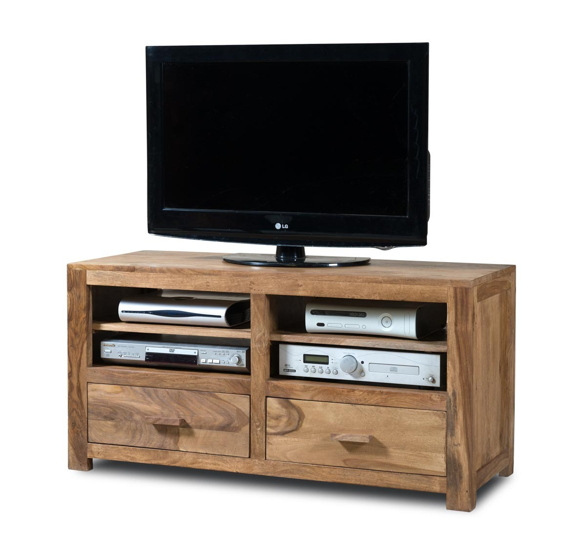 Mandir Stonewashed Sheesham Large Tv Unit Casa Bella Furniture Uk # Meuble Tv Sheesham