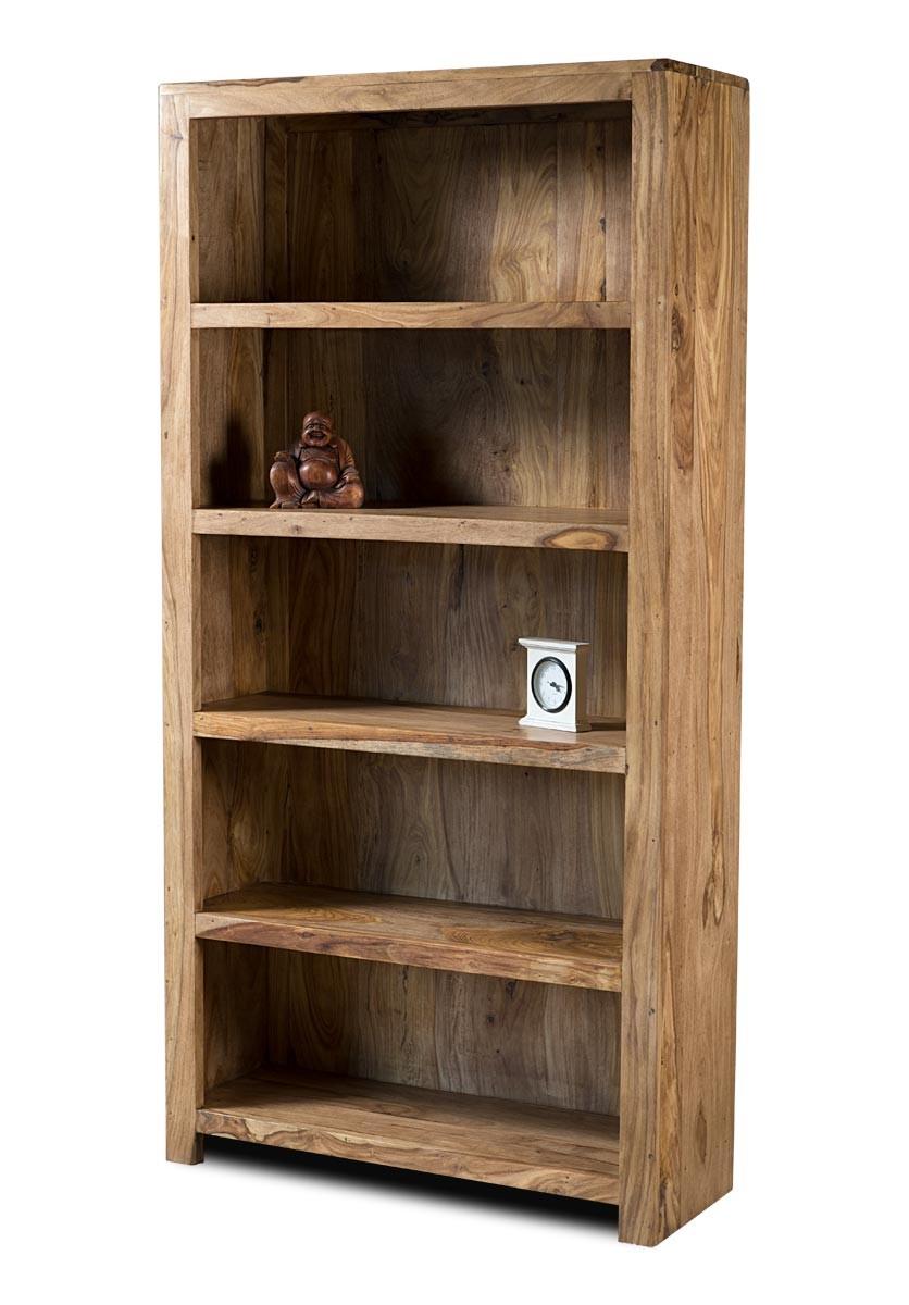 Mandir Stonewashed Sheesham Tall Bookcase