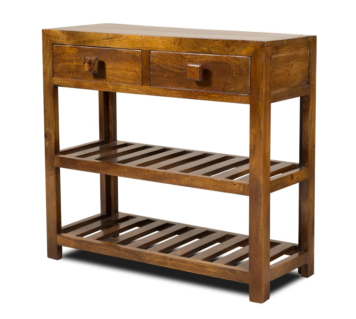 Dakota Mango Small Console Table Casa Bella Furniture UK