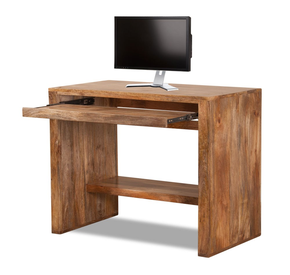 Dakota light mango computer desk casa bella furniture uk for Furniture uk
