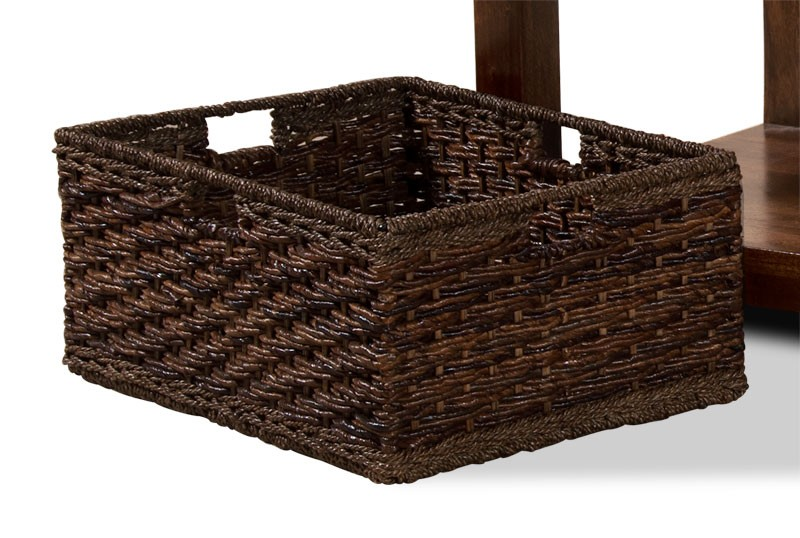 Coffee Table Rattan Storage Basket Casa Bella Furniture Uk