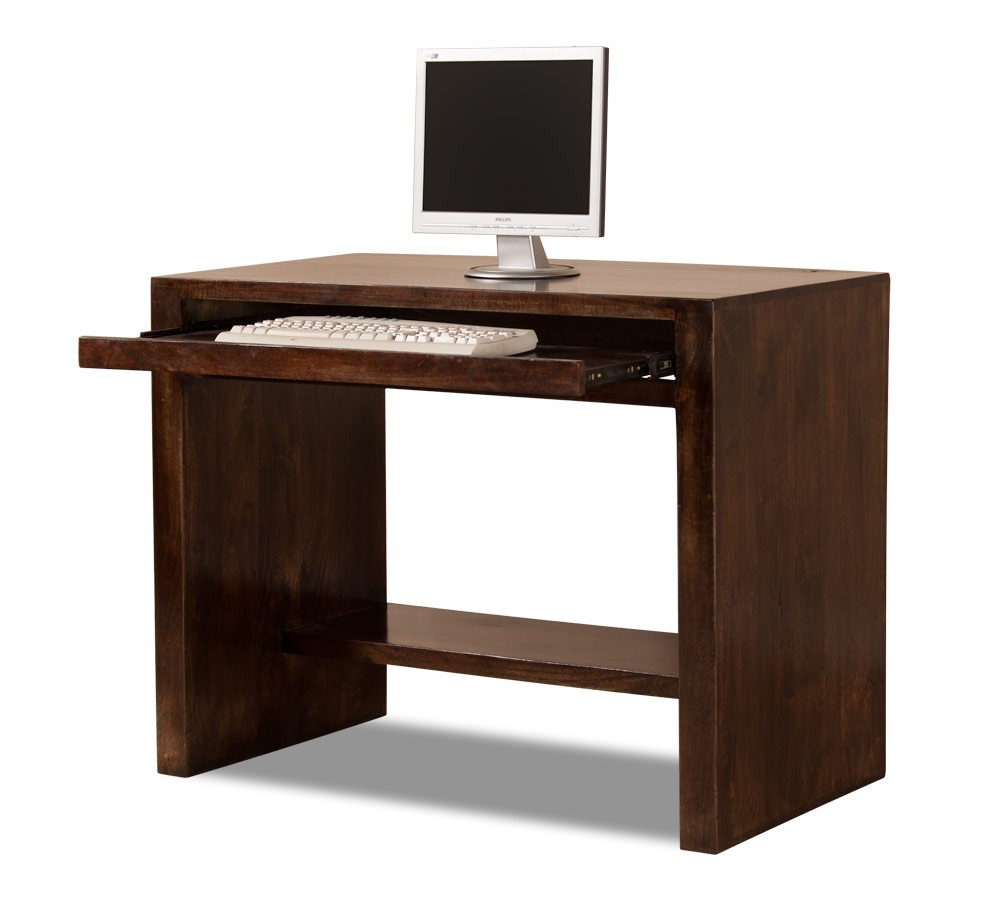 Dakota dark mango computer desk casa bella furniture uk for Furniture uk