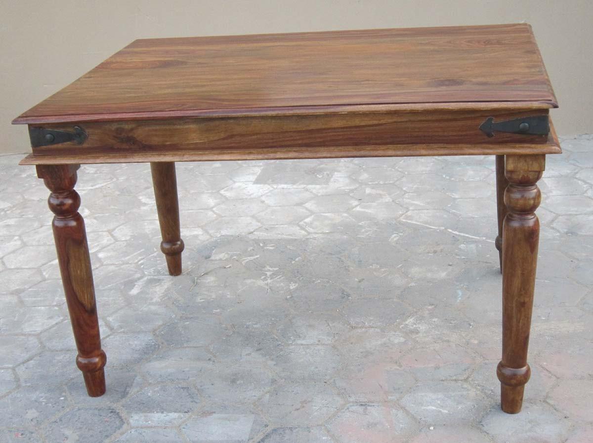 jali sheesham 120cm dining table casa bella furniture uk. Black Bedroom Furniture Sets. Home Design Ideas