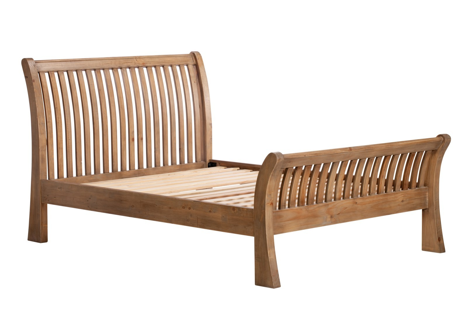 Antigua Reclaimed King Size Bed