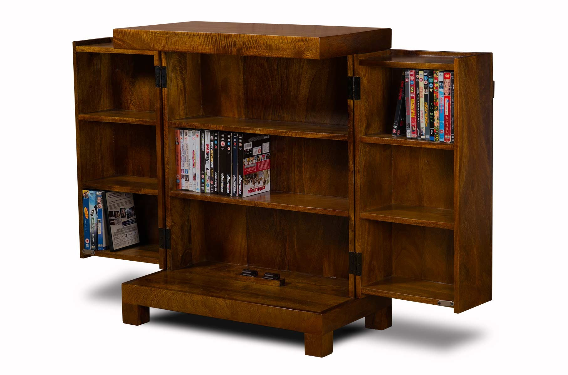 Dakota Mango Media Storage Unit Casa Bella Furniture Uk