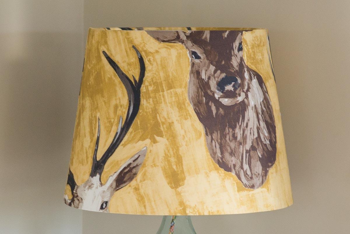 45cm Ochre Stags Head Empire | Casa Bella Furniture UK