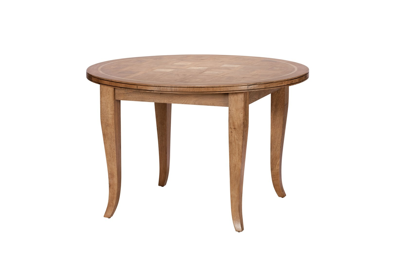 Florence Mango And Stone Circular Dining Table Casa Bella Furniture