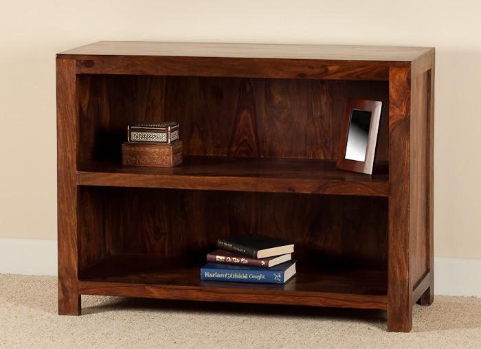 Low Wooden Bookcases ~ Solid wood bookcase casa bella furniture uk