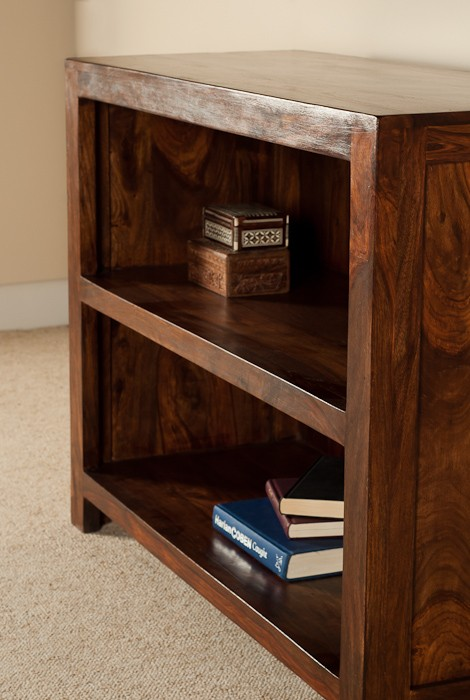 Solid Wood Bookcase Casa Bella Furniture Uk