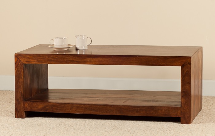 Handcrafted Solid Wood Coffee Table Casa Bella Furniture Uk