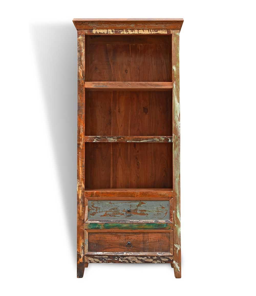 Reclaimed Indian Alcove Bookcase   Casa Bella Furniture UK