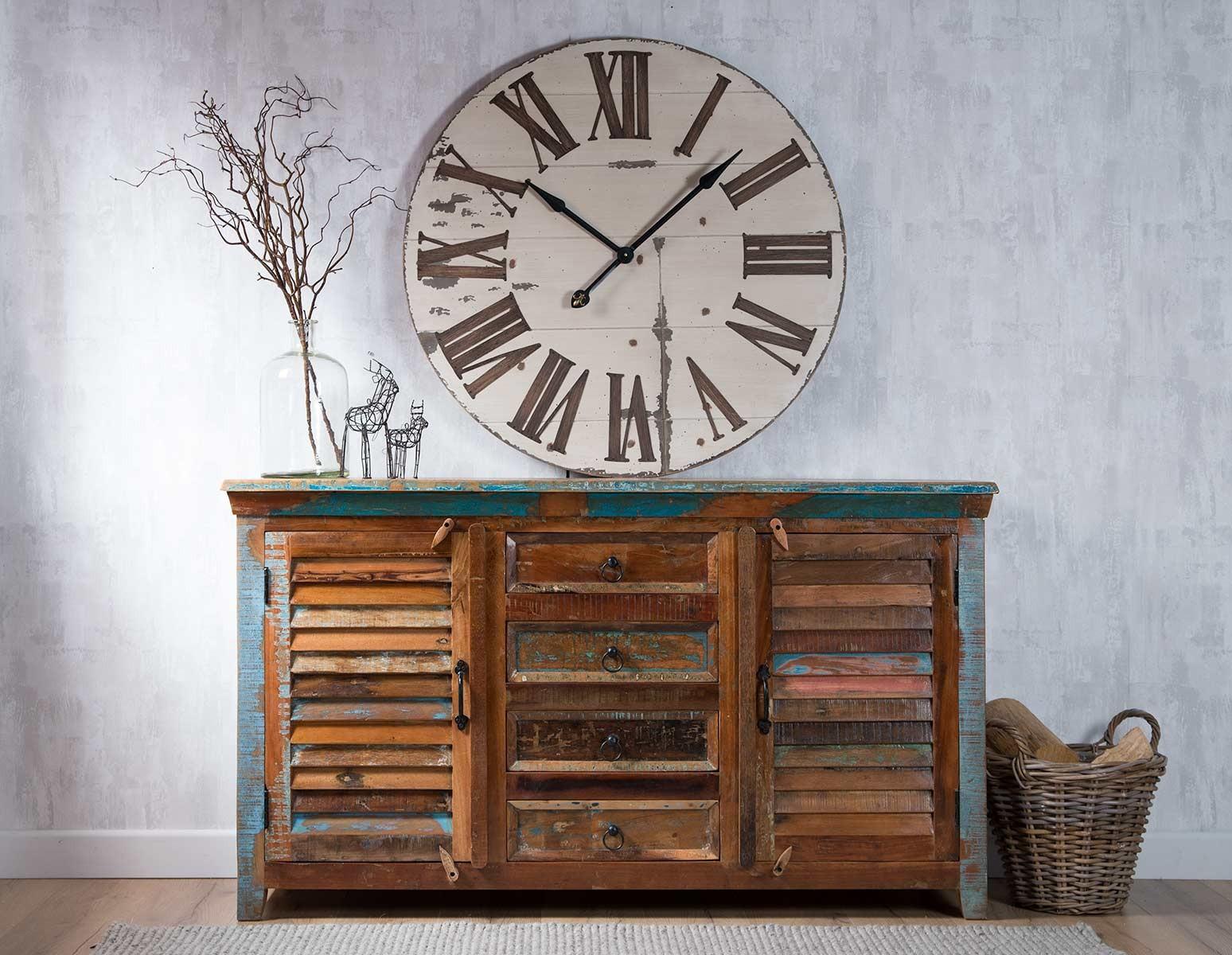 Reclaimed Indian Large Sideboard Casa Bella Furniture Uk