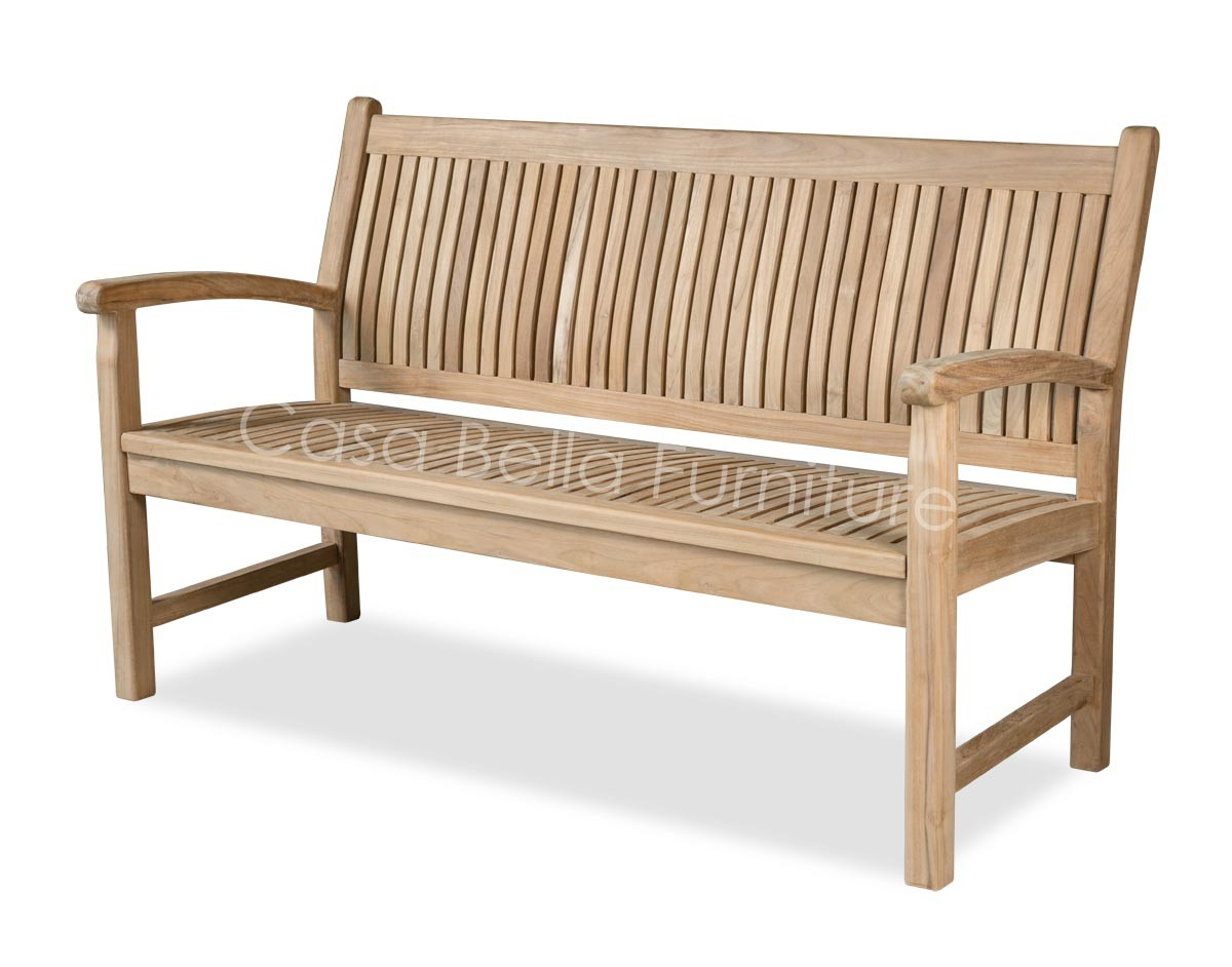 sloane oval garden winchester seater sons teak double bench