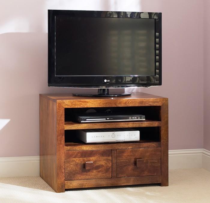 huge discount e2e5a a9cc7 Dakota Mango Small TV Unit