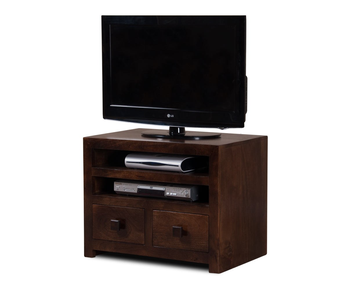 Dakota Dark Mango Small TV Unit