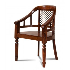 Mandir Sheesham Desk Chair 1