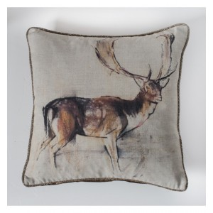 Stag Studies Cushion Natural