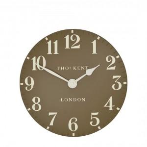 Thomas Kent Arabic Taupe Small Wall Clock