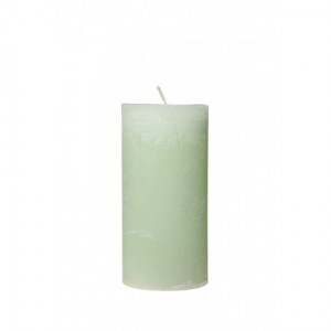 Mint Green Pillar Candle - Tall