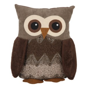 Owl Design Fabric Doorstop