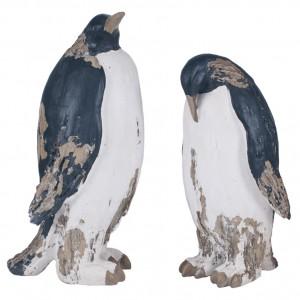 Penguin sculptures - Set of 2