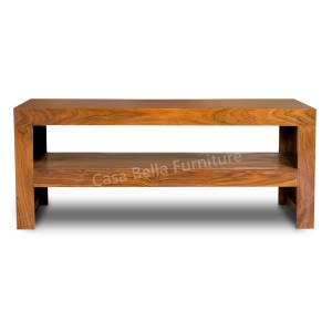 Cuba Sheesham Open TV Unit-Coffee Table 1