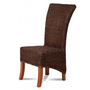 Erlina Rattan Dining Chair - Light Leg 1