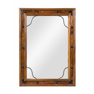 Jali Sheesham Mirror - Small 1