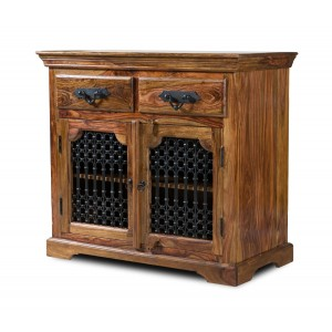 Jali Sheesham Small Sideboard 1