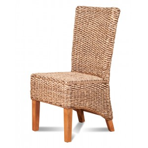 Milano Rattan Dining Chair - Light Leg 1