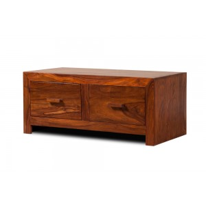Mandir Sheesham 4-Drawer Coffee Table 1