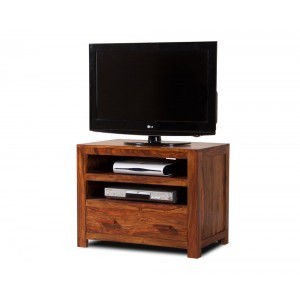 Mandir Sheesham Small TV Unit 1