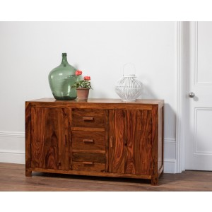 Mandir Sheesham Large Sideboard 1