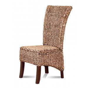 Rosanna Rattan Dining Chair - Dark Leg 1