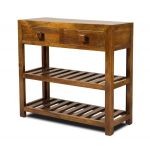 Dakota Mango Small Console Table 1