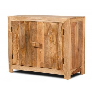 Dakota Light Mango Small 2-Door Sideboard 1