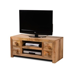 Dakota Light Mango Low TV Unit 1
