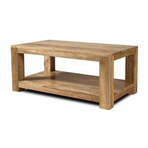 Dakota Light Mango Open Coffee Table 1