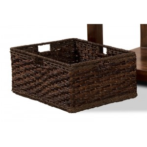 Coffee Table Rattan Storage Basket  1
